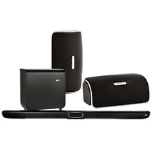 Two Polk Audio Wireless Speakers & Sound Bar System Package