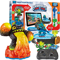 Skylanders Trap Team Starter Pack for Tablets with Volcanic Eruptor