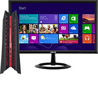 "ASUS G20AJ-B07 Desktop & 21.5"" LED Monitor Package"
