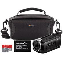 Sony HDR-PJ275 8GB HD Flash Memory Camcorder, Bag, Battery & 8GB Memory Card
