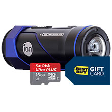 iON Air Pro 3 HD Flash Memory Camcorder, 16GB Memory Card & Free $100 Best Buy Gift Card
