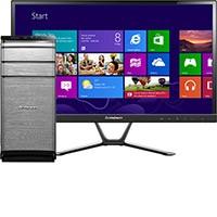 """Lenovo K450E-57327818 Desktop & 23"""" IPS LED Monitor Package"""