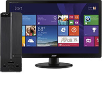 "Acer Aspire AXC-603-UB17 Desktop & 19.5"" LED Monitor Package"
