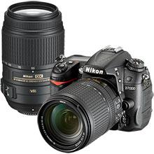 Nikon D7000 DSLR Camera with 18-140mm Lens & Extra 55-300mm Lens