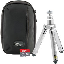 Accessory Package for Samsung WB35 Camera