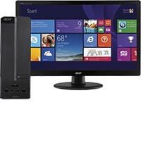 "Acer Aspire AXC-115-UR20 Desktop & 19.5"" LED Monitor Package"