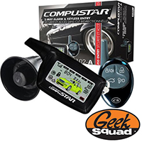 CompuStar Vehicle Security Kit and Geek Squad® Installation