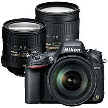 Nikon D610 24.3MP DSLR Camera with 28-300mm Lens & Extra 24-85mm Zoom Lens