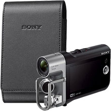 Sony HD Camcorder & Sony Soft Carrying Case