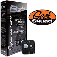 iDataStart ADS-BZ4 3000-Ft. Remote Start System for Select 2012-Up Mercedes-Benz Vehicles & Geek Squad® Installatio