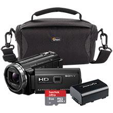 Sony HDR-PJ540 32GB Flash Memory Camcorder, Bag, Battery & 8GB Memory Card