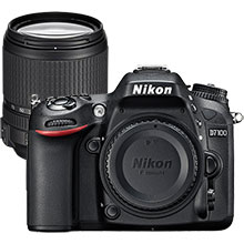 Nikon D7100 24.1MP DSLR Camera (Body Only) & Extra 18-140mm Lens