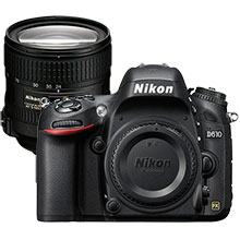 Nikon D610 24.3MP DSLR Camera (Body Only) & Extra 24-85mm Lens