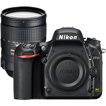 Nikon D750 24.3MP DSLR Camera (Body Only) & Extra 28-300mm Lens