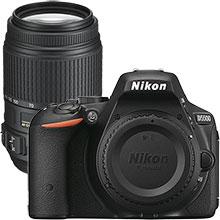 Nikon D5500 24.2MP DSLR Camera (Body Only) & Extra 55-300mm Lens