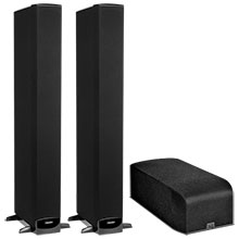 Definitive Technology A60 Dolby Atmos Speakers (Pair) and Two SuperTower Floorstanding Loudspeakers Package