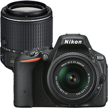Nikon D5500 24.2MP DSLR Camera with 18-55mm Lens & Extra 55-200mm Lens
