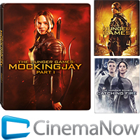 The Hunger Games: Mockingjay — Part 1 Package with 3 Digital Movies