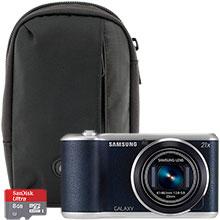 Samsung Galaxy 2 16.3MP Digital Camera with Free Camera Bag and 8GB Memory Card
