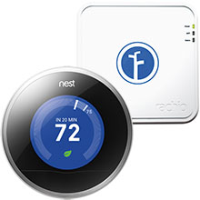 Nest Learning Thermostat and Rachio Iro 16-Zone Wi-Fi Sprinkler Controller