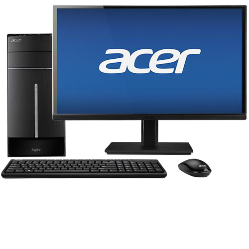 "Acer Aspire ATC-605-UB11 Desktop & 23"" IPS LED Monitor Package"