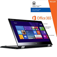 Lenovo Yoga 3 14-80JH000PUS 2-in-1 Laptop & Microsoft Office Package