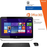 HP Pavilion 23-p114 Touch-Screen All-in-One Computer & Microsoft Office Package