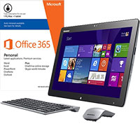 Lenovo Horizon 2S-F0AT0003US Portable Touch-Screen All-in-One Computer & Microsoft Office Package