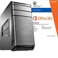 Lenovo K450E-57327818 Desktop & Microsoft Office Package