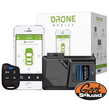 DroneMobile Smartphone Alarm and Remote Start Kit & Geek® Squad Installation
