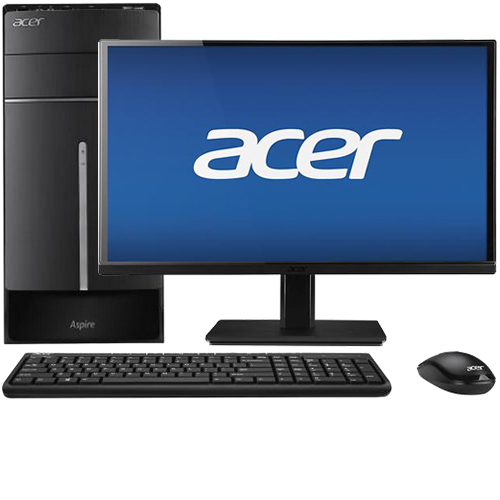 "Acer Aspire ATC-605-UB12 Desktop & 23"" IPS LED Monitor Package"