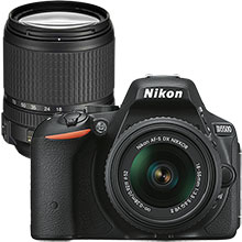Nikon D5500 24.2MP DSLR Camera with 18–55mm Lens & Extra 18–140mm Lens