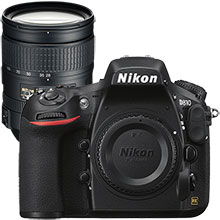 Nikon D810 36.3MP DSLR Camera (Body Only) and Extra 28–300mm Lens