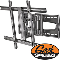 "For TVs 47"" and Larger: Geek Squad TV & Video Setup with Rocketfish™ Full-MotionTV Mount and TV Mounting Service"