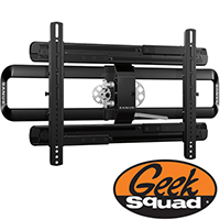 "For TVs 47"" and Larger: Geek Squad TV & Video Setup with Sanus Tilting TV Mount and TV Mounting Service"