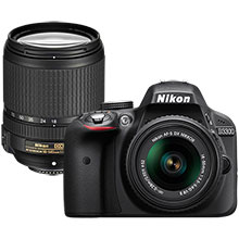Nikon D3300 24.2MP DSLR Camera with 18-55mm Lens and Extra 18-140mm Lens