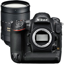 Nikon 16.2MP D4S DSLR Camera (Body Only) and Extra 28-300mm Lens
