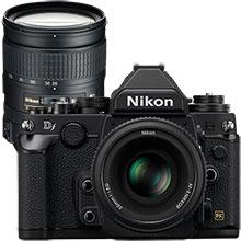 Nikon Dƒ 16.2MP DSLR Camera with 50mm Special Edition Lens & Extra 28-300mm Lens