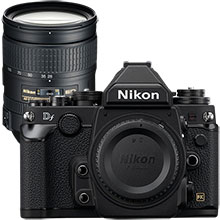 Nikon Dƒ 16.2MP DSLR Camera (Body Only) & Extra 28-300mm Lens