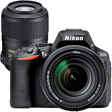 Nikon D5500 24.2MP DSLR Camera with 18-140mm Lens and Extra 85mm Telephoto Lens