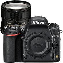 Nikon D750 24.3MP DSLR Camera (Body Only) & Extra 24-85mm Lens