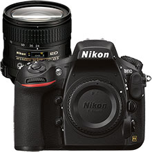 Nikon D810 36.3MP DSLR Camera (Body Only) & Extra 24-85mm Lens