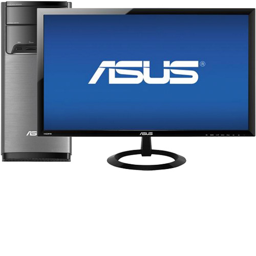 "ASUS M32BC-B01 Desktop & 24"" LED Monitor Package"