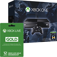 Xbox One Halo The Master Chief Bundle with 12 Months of Xbox Live