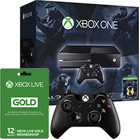 Xbox One Halo The Master Chief Bundle with Extra Controller & 12 Months of Xbox Live