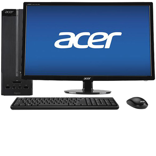"Acer Aspire AXC-115-UR20 Desktop & 27"" LED Monitor Package"