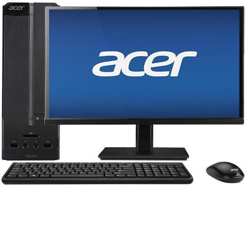 "Acer Aspire AXC-605-UB1F Desktop & 23"" IPS LED Monitor"
