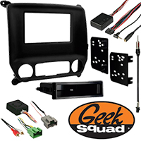 Double DIN Receiver Installation Package for 2014–2015 GMC Sierra