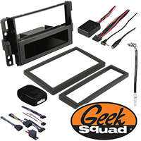 Double DIN Receiver Installation Package for 2014 GMC Sierra
