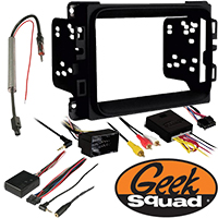 """Double DIN Receiver Installation Package for 2013–2015 Ram 1500 Without Amplifier and 8.4"""" Touch Screen"""